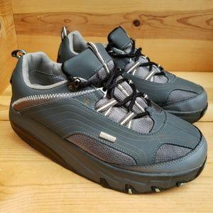 MBT 9 Rocker Bottom Gore-tex Lace Up Comfy Sneaker